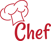 Recette de chef chef logo